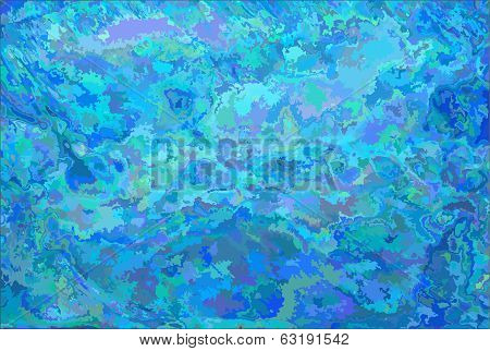 Abstract Vector Watercolor Background For Design