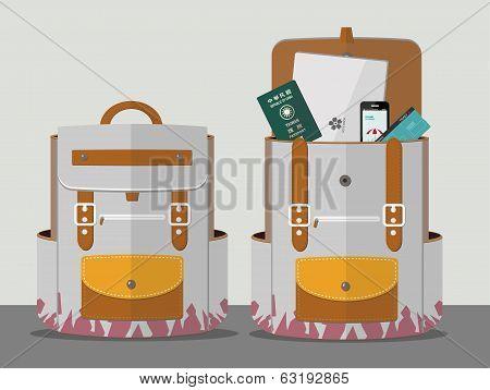 Backpacker's backpack