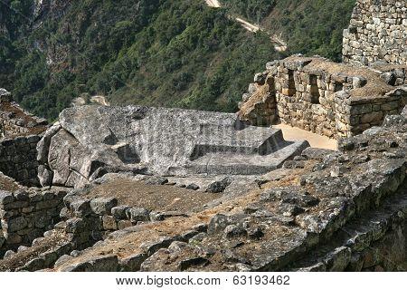 Ruins on the Machu Picchu