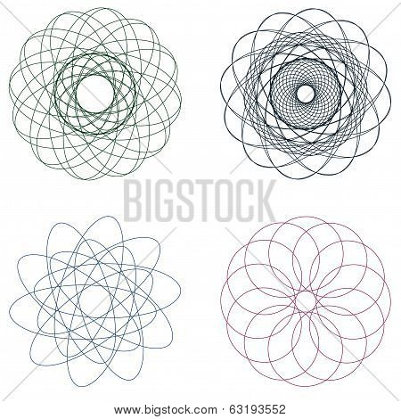 Colorful Spirographs