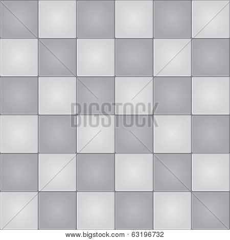 Monochrome tiles background seamless pattern.