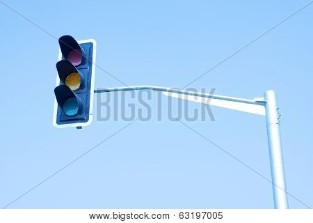 Close up of traffic lights