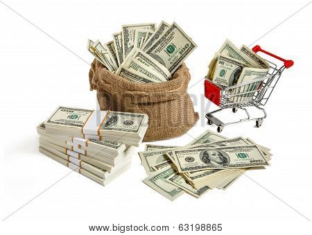 Bagful money