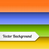 Vector Stripes Background
