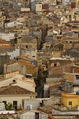 Calatafimi View Of City ,sicilia,italy