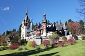 stock photo of neo  - Peles Castle - JPG