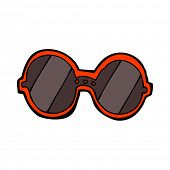 cartoon sunglasses