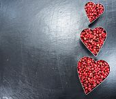 Pink Peppercorns (heart Shape)