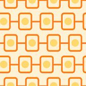 illustration of a seamless retro pattern, eps10 vector