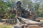 One Of The Temples In The Area Of ​​angkor Wat