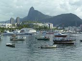Rio De Janeiro - Brazil, April 12, 2014 - Cloudy Weather In Marina Da Glória South Side Neighborhood