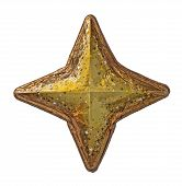 Golden Christmas Star
