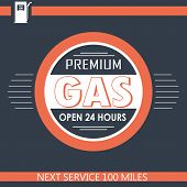 Premium Gas Filling Station