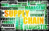 pic of supply chain  - Supply Chain Management Background as Design Art - JPG