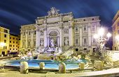 stock photo of fountains  - Rome Italy  - JPG