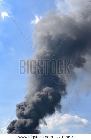 Thick Dark Smoke