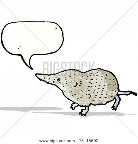 cartoon shrew