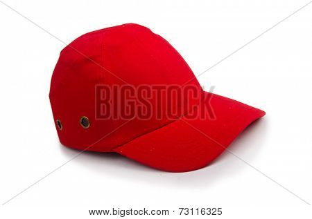 Baseball cap isolated on the white