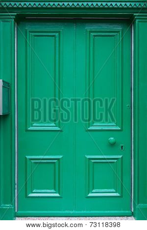 Traditional British door from England and Scotland