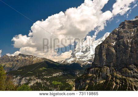 Beautiful Alps Landscape