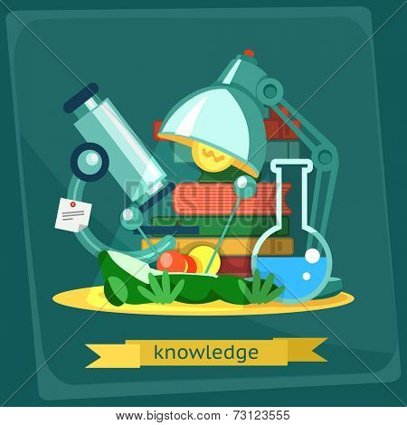 Frog dissection, vector illustration