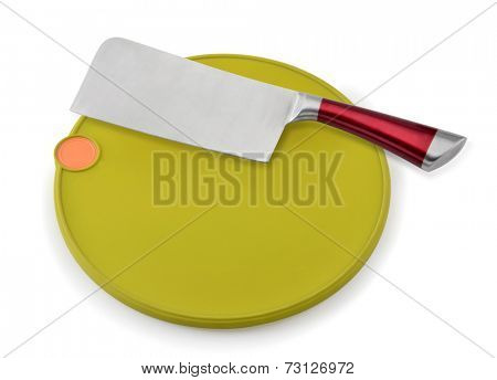Kitchen Knive and Cutting Board