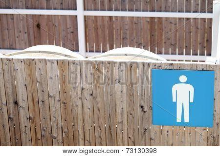 Public toilet for male