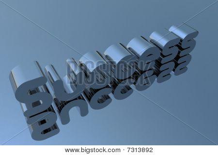 Success Written In Chrom
