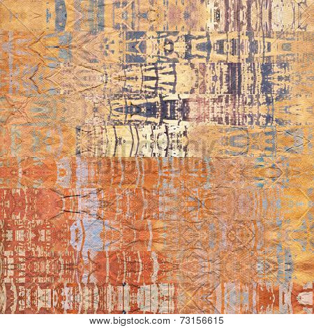 art abstract geometric horizontal stripes pattern background in orange and white colors