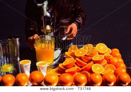 Orange Juice Man