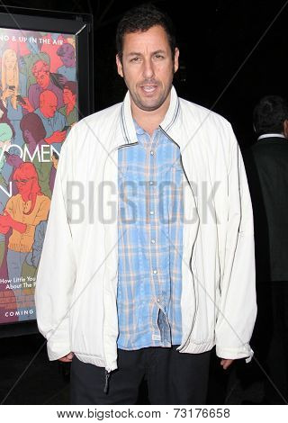 LOS ANGELES - SEP 30:  Adam Sandler at the
