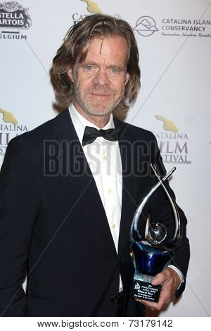 AVALON - SEP 27:  William H. Macy at the Catalina Film Festival Gala After Party at the Metropole Hotel on September 27, 2014 in Avalon, Catalina Island, CA