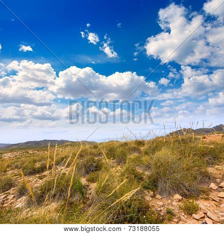 Calblanque beach Park near La Manga Mar Menor in Murcia Spain