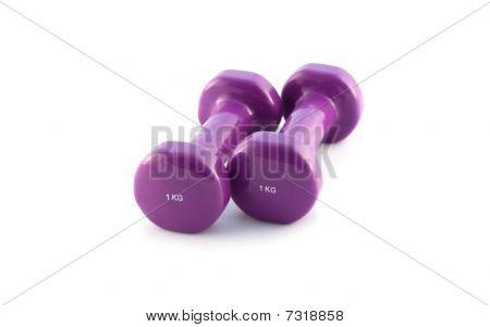 Violet Dumbbells