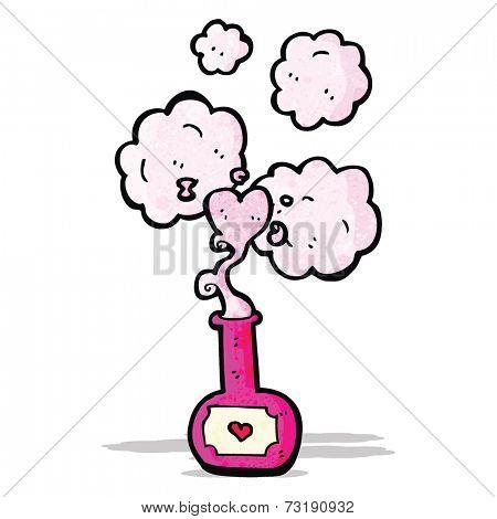 cartoon love potion