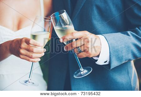 Wedding Couple Toast