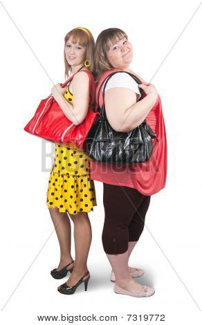 Girlfriends With Bag