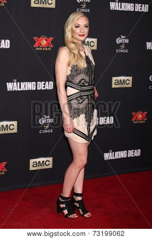 LOS ANGELES - OCT 2:  Emily Kinney at the