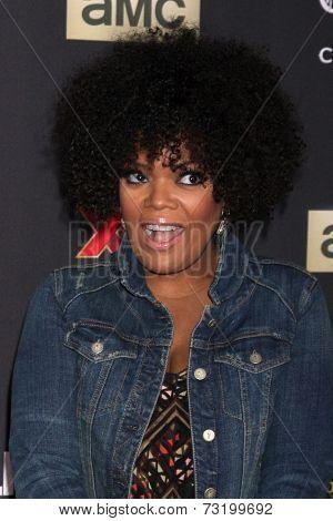 LOS ANGELES - OCT 2:  Yvette Nicole Freeman at the
