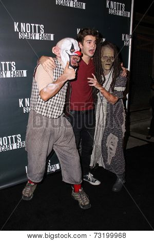LOS ANGELES - OCT 3:  Jack Griffo at the Knott's Scary Farm Celebrity VIP Opening  at Knott's Berry Farm on October 3, 2014 in Buena Park, CA
