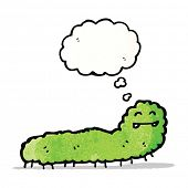 pic of caterpillar cartoon  - cartoon caterpillar - JPG