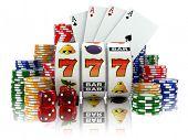 stock photo of poker machine  - Casino - JPG