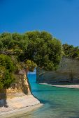 stock photo of sidari  - SIdari on the island of Corfu Greece - JPG