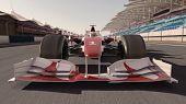 Постер, плакат: Формула один гоночный автомобиль