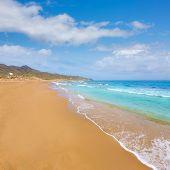 image of manga  - Calblanque beach Park near La Manga Mar Menor in Murcia Spain - JPG