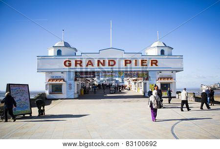 The Rebuilt Weston Super Mare Grand Pier