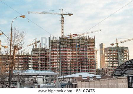 Construction in Moscow