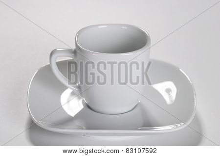 Little White Coffee Cup