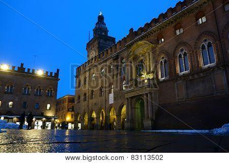 Accursio Palace. Bologna. Italy