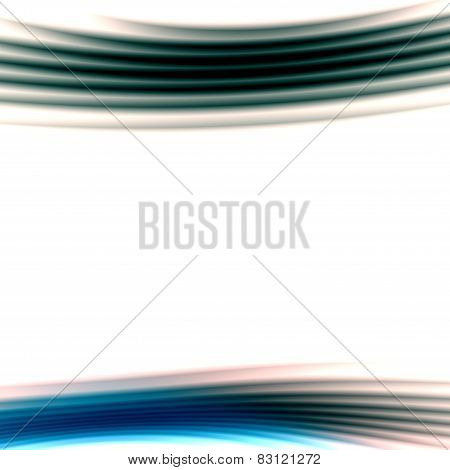 Abstract white presentation background. Modern simple business card template. Digital creative art.
